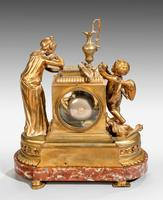 Louis XVI Period Gilt Bronze Mantel Clock (3 of 4)