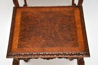 Antique Queen  Anne Style Burr Walnut Nest of Tables (2 of 9)