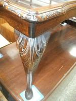 Glass Topped Mahogany Coffee Table (3 of 3)