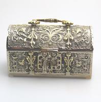 A Novelty Jewellery Box Armada Treasure Chest 20thc (2 of 8)