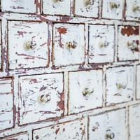 Painted Vintage Chest of Drawers (7 of 8)
