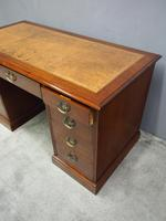 Georgian Style Walnut Writing Desk c.1910 (10 of 11)