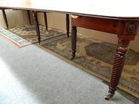 Large Regency Mahogany Concertina Action Dining Table (6 of 9)