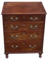 Small Mahogany Chest of Drawers 19th Century