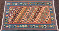 Old Persian Shiraz Kelim Rug