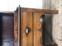 Small Antique Oak Farmhouse Country or Cottage Dresser (9 of 12)