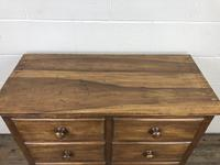 Antique Mahogany Chest of Six Drawers (3 of 9)