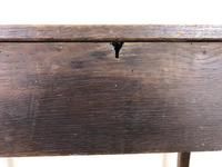Georgian Oak Single Drawer Side Table (10 of 10)