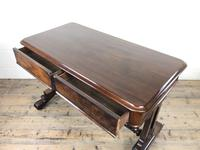 Antique William IV Mahogany Side Table (8 of 16)