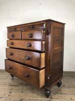 Antique Welsh Oak & Mahogany Chest of Drawers (13 of 15)