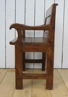 Antique French Bishops Chair (4 of 8)