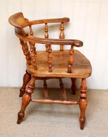 Elm And Beech Smokers Bow Armchair (5 of 10)