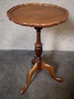 Mahogany Tripod Table / Wine Table (5 of 6)