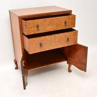 Antique Burr Walnut  Chest on Cabinet (7 of 12)