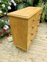 Fabulous & Large Old Pine Chest of Drawers (5 of 8)