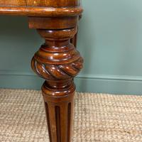 Quality Heal & Son Victorian Mahogany Antique Writing Table (8 of 8)