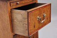 Pair of Mid 20th Century Burr Oak Bedside Chests (11 of 11)