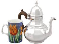 Britannia Standard Silver Teapot - Queen Anne Style - Antique George V 1920 (2 of 9)