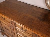 Superb Georgian Oak Serving Dresser Large (12 of 20)