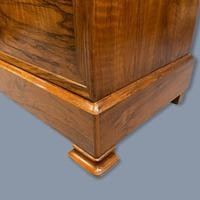 Figured Walnut Marble Top Commode (7 of 9)