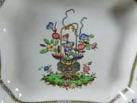 """Copeland """"Late Spode"""" Old Bow Pattern Serving Dish (2 of 7)"""