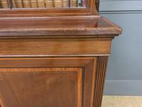 Good Edwardian Inlaid Mahogany Bookcase (7 of 16)