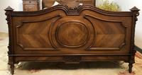 Antique French Stunning Huge Oak Bed Frame & Pot Cupboard (11 of 16)