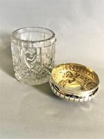 Fabulous Victorian Silver Topped Vanity Jar (5 of 7)