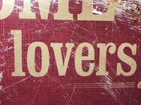 Vintage English Original Enamel Metal Welcome Coffee Lovers Double Sided Shop Sign (17 of 21)