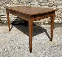 Small Antique French Elm Farmhouse Table (4 of 22)