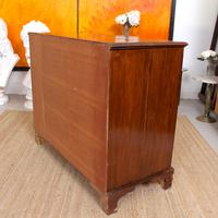 Chest of Drawers Victorian Mahogany 19th Century Straightedge (9 of 9)