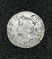 1687 James II Silver Threepence Coin Good Condition (2 of 2)