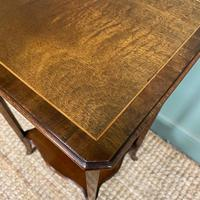 Superb Quality Mahogany Wine Table / Lamp Table by John Taylor (5 of 6)