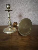Pair of Brass Arts and Crafts Candlesticks (4 of 12)