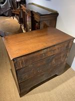 Small Georgian Oak Chest of Drawers (7 of 7)