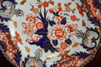 Fabulous Royal Crown Derby Bone China Scalloped Plate c.1890 (3 of 8)