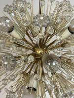 Vintage Mid Century Chandelier Sputnik Emil Stejnar Dandelion Style 16 Lights (4 of 7)
