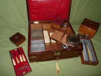 Unusual Georgian Fitted Gentleman's Dressing Box + Accessories.c1815 (11 of 18)