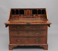 18th Century Walnut & Leather Banded Bureau (17 of 17)