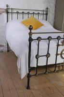 Very Nice  All Original Victorian Brass & Iron Double Bed (7 of 7)