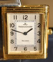 Jeager le Coultre Reverso Ladies Watch in Gold & Steel (6 of 6)