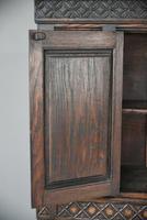 Gothic Revival Oak Cupboard (10 of 12)