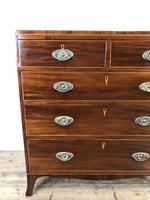 Antique 19th Century Mahogany Chest of Drawers (14 of 14)