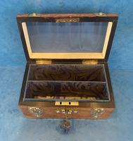 Victorian Brassbound Burr Walnut Stationary Box (11 of 11)