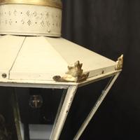 English Single Light Polychrome Lantern (4 of 10)