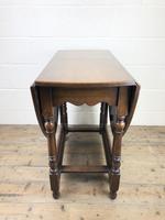 Early 20th Century Oak Gateleg Table (3 of 9)