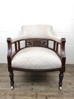 Pair of Victorian Mahogany Tub Chairs (5 of 17)