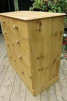 Gorgeous & Large Old Pine Chest of Drawers (5 of 7)
