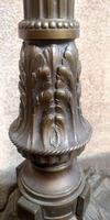 French Art Deco Bronzed Standard Lamp C1910 (4 of 11)