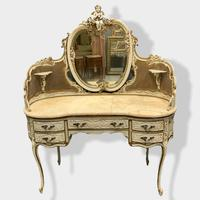 Italian Paint and Cane Dressing Table (2 of 8)